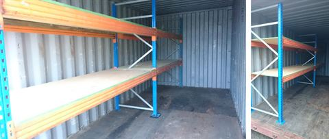 Tavistock Self Storage, Shelving Available