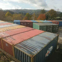 Lots more containers at Tavistock Self Storage in November 2017
