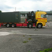 New Multi-store Mini Unit Container Delivered to Tavistock Self Storage in July 2018