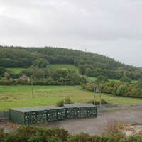 Area for storage expanded and new fencing erected 2019