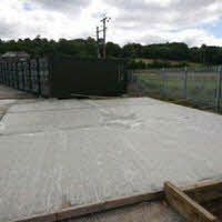 New groundworks added to further increase our storage area